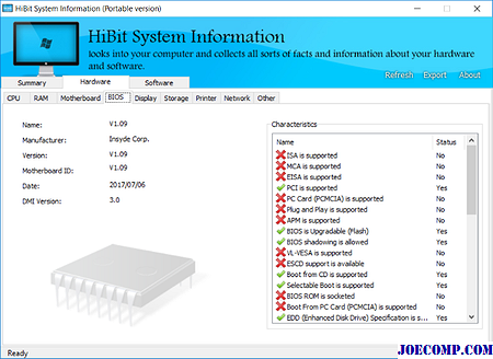 HiBit System Information: Hardware- und Softwareinformationen zu Ihrem Windows PC anzeigen