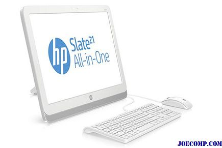 Komputer HP all-in-one firmy Slate 21 to system Android, nie Windows