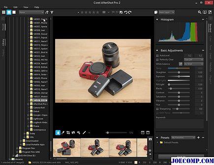 2018 - Обзор Corel AfterShot 2 Pro: Редактор фотографий является грозным конкурентом Adobe Lightroom