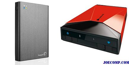 Wi-Fiハードドライブの対決:Corsair VoyagerとSeagate Wireless Plus